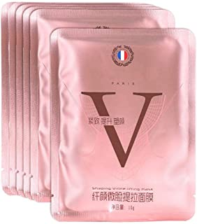 V Line Lifting Face Mask, V-Shaped Tightening Lifting Face Mask for Firming Hydraterende Lifting, Double Chin Reducer Chin...
