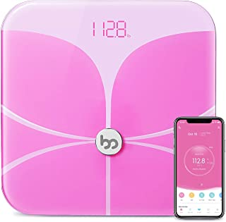 Femometer Butterfly Bluetooth Body Fat Scale - Smart BMI Scale - Digital Bathroom Wireless Weight Scale, Body Composition ...