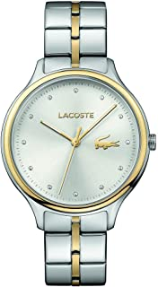 Lacoste Womens Quartz Watch, Analog Display and Stainless Steel Strap 2001044