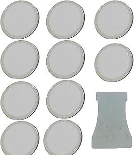 HRTELEC Discos de cer/ámica ultras/ónicos para humidificador con Herramienta de Repuesto 16 mm