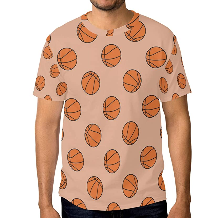 Horatiood Huberyyd Basketball Hoop Hamper Men's T Shirts Graphic Funny Body Print Short T-Shirt Unisex Pullover Blouse