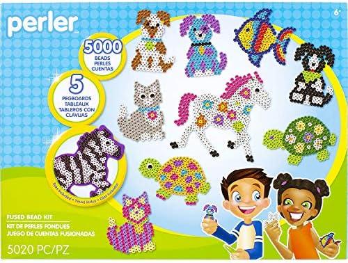 Perler beads horse
