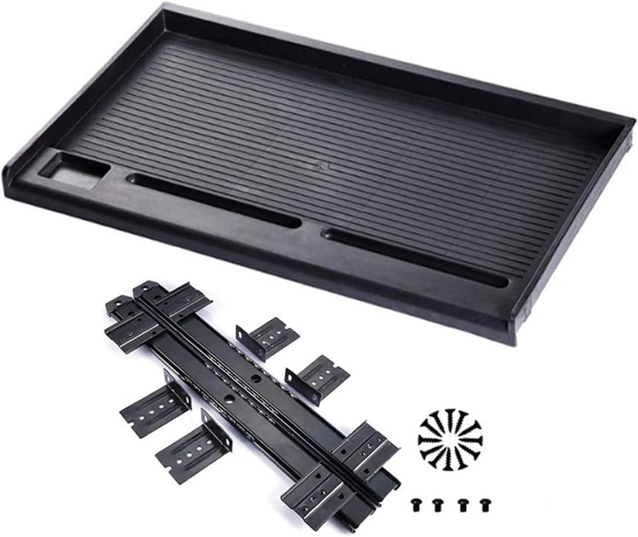 Keyboard Tray Under Desk Adjustable Brand Cheap Sale Venue Mail order - Black Height White Sliding