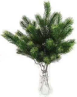 Li KererPlastic Pine Branch Artificial Christmas Tree Branches Decoración para el hogar Plantas Artificiales Verdes Party Garden Shop Decor JY7354