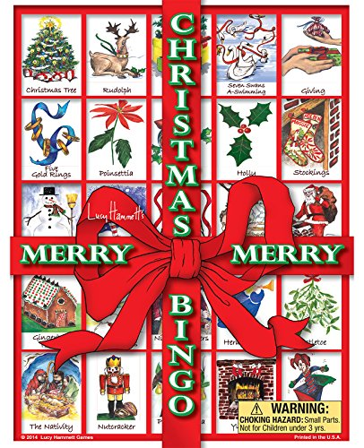 Christmas BingoTM by Lucy Hammett Games by Lucy Hammett Games