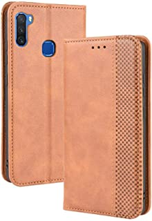 Case for Infinix Note 6 X610,Leather Stand Wallet Flip Case Cover for Infinix Note 6 X610,Retro magnetic Phone shell,Walle...