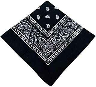Paisley Print Highest Quality Cotton For Softness Scarf 2Pcs