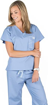 664a3c05 Blue Sky Scrubs Women's Shelby Scrub Tops