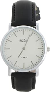 Charisma Casual Watch for MenLeather Band, Analog, C7041