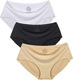 Women's No Show Hiphugger Panties Pack of 6