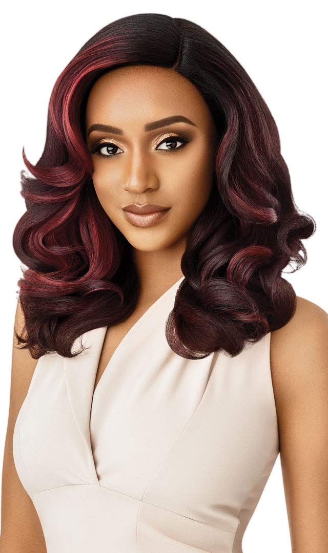 Outre Neesha Soft Natural Synthetic Denver Mall Swiss Lace New Shipping Free Wig NEESH Front