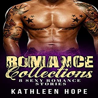 Romance: 8 Sexy Romance Stories - Romance Collections, Bbw, Menage, Threesome audiobook cover art
