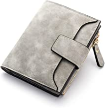 QIUHUAXIANG Pu Leather Wallet Ladies Zipper Card Wallet Fashion Women Hasp Purse Short Wallets Female Color Small Zip Pocket