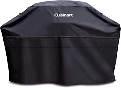 "Cuisinart CGC-60B Heavy-Duty Barbecue Grill Cover, 60"", Black, Cover-60"