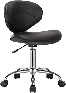 Modernhome Venus Adjustable Height Massage Stool w/Wheels