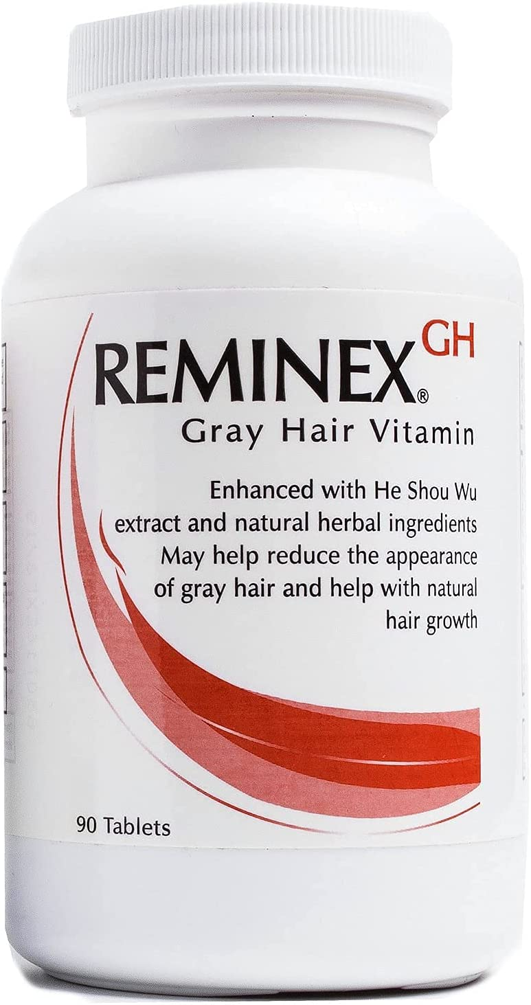 Reminex GH Anti Gray Hair - Limited price Limited time sale sale Capsules Supplement 90 Vitamins