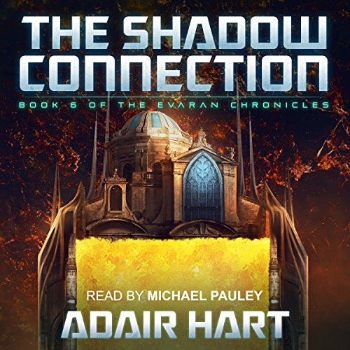 The Shadow Connection audiobook cover art