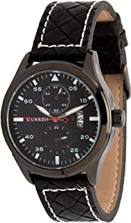 Curren 8151-Black,Black Watch For Men