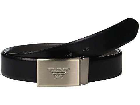 Emporio Armani Reversible Smooth Leather Belt