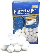 Bada Bing Bolas filtrantes para filtros de piscina, bolas de filtro de arena, 700 g, equivalente a 25 kg de arena de filtro, accesorios para piscina, limpiador de piscina, bomba de filtro 55