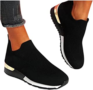 Baskets Dasongff pour femme - En maille filet - Chaussures de sport - Pour l'extérieur - Chaussures plates - Respirantes -...