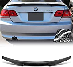 AeroBon Real Carbon Fiber Trunk Spoiler for 05-13 BMW E92 3-Series Coupe and M3 (M4-V Type)