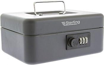 Sterling Locks CB02C BK Handkassa, geldcassette met cijferslot, 20,3 cm