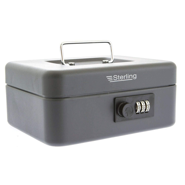Sterling Locks - Caja de caudales cifrada (20 cm) [Importado de ...