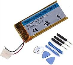 DDS-DUDES Batería de repuesto compatible con iPod Nano 6th Generation A1366 + Repair Toolkit