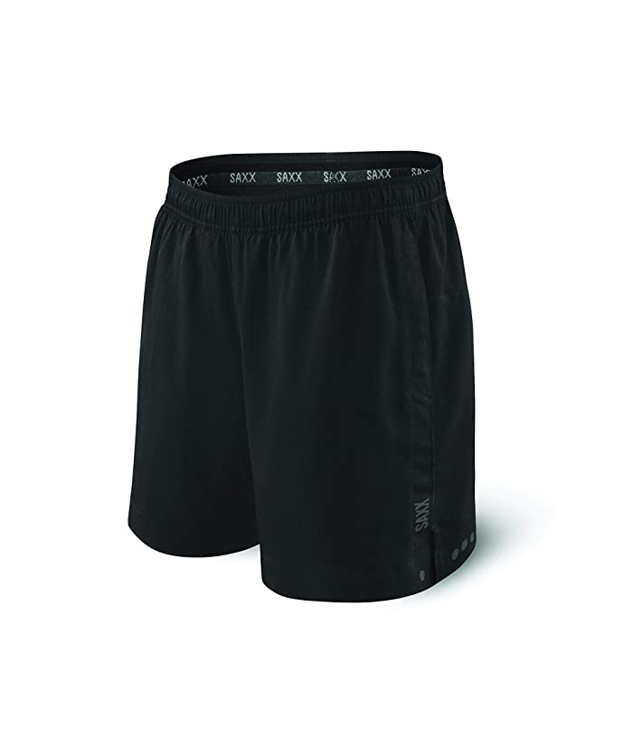 SAXX UNDERWEAR Kinetic 2N1 Sport (Black) Men
