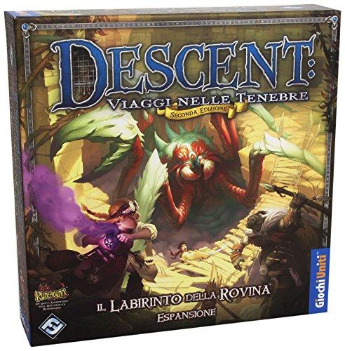 Giochi Uniti - Descent, Il Labirinto Delle Rovina