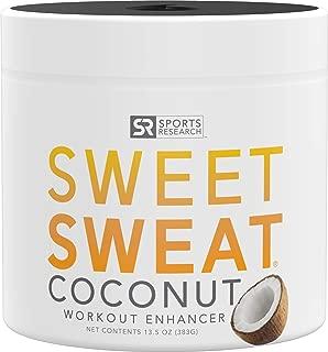Sweet Sweat Coconut 'Workout Enhancer' Gel - 'XL' Jar (13.5oz)