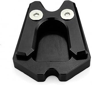 Par de patas de caballete de goma negras compatibles con Piaggio Vespa PK 125