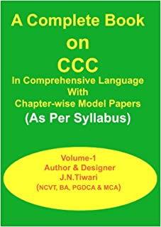 E-BOOK ON CCC: CHAPTER-WISE MODEL PAPERS (20181222 2)