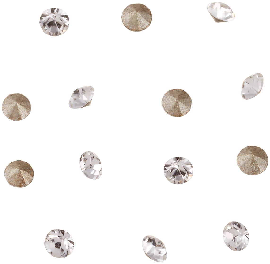 松の木補う日曜日ネイルアートパーツ Vカットストーン クリスタル PP10   約1.6~1.7mm