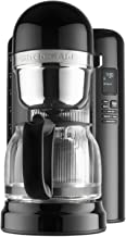 KitchenAid KCM1204OB 12-Cup Coffee Maker with One Touch Brewing - Onyx Black