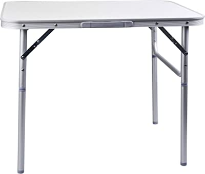 50-69cm Height Adjustable Via Mondo Large Folding Hi-Lo Table 120 x 60cm