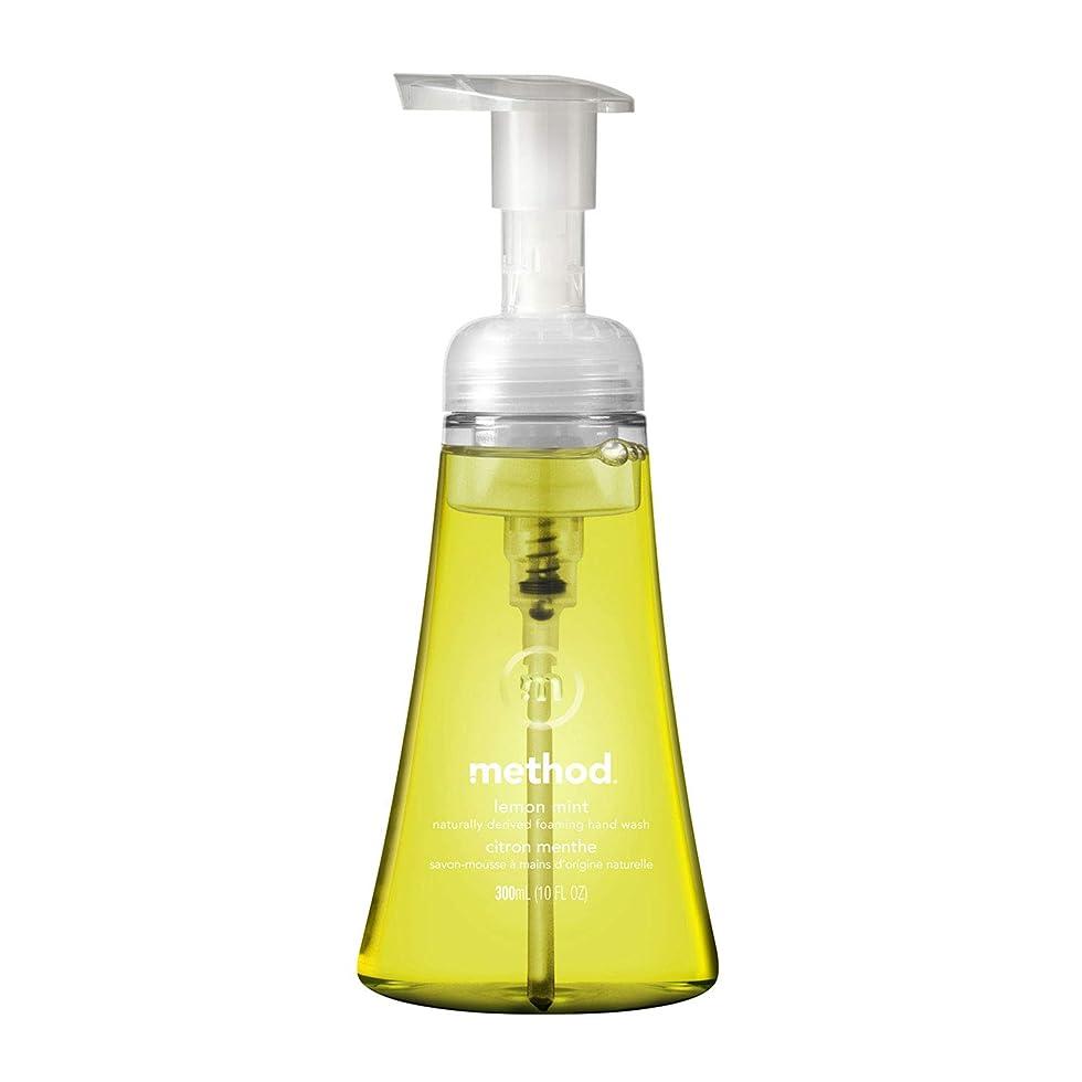 国家ぐったり製油所メソッド ハンドソープ 泡タイプ レモンミント 本体300ml