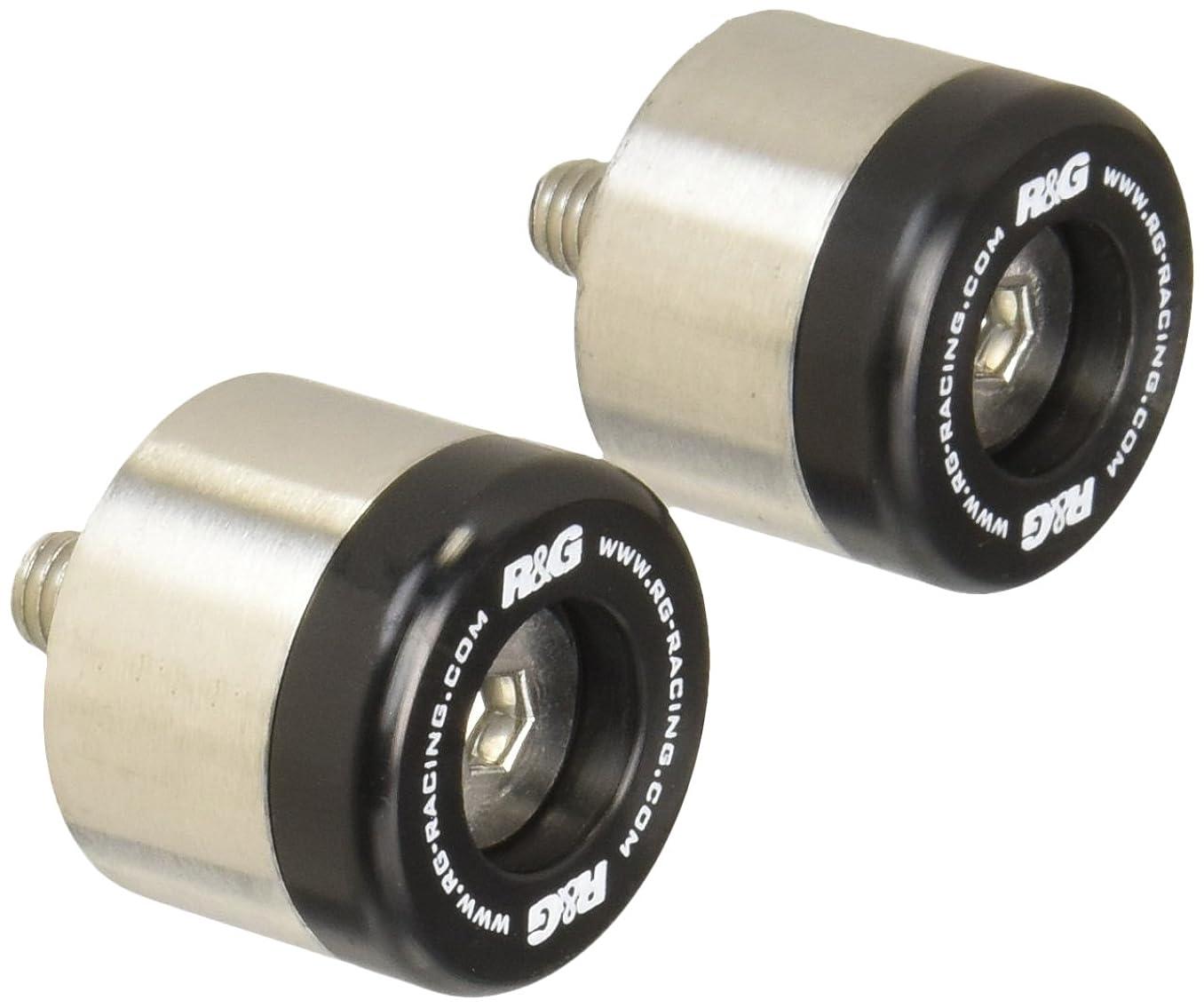 限定助言する乳剤R&G(アールアンドジー) バーエンドスライダー ブラック G310R(17-) RG-BE0112BK