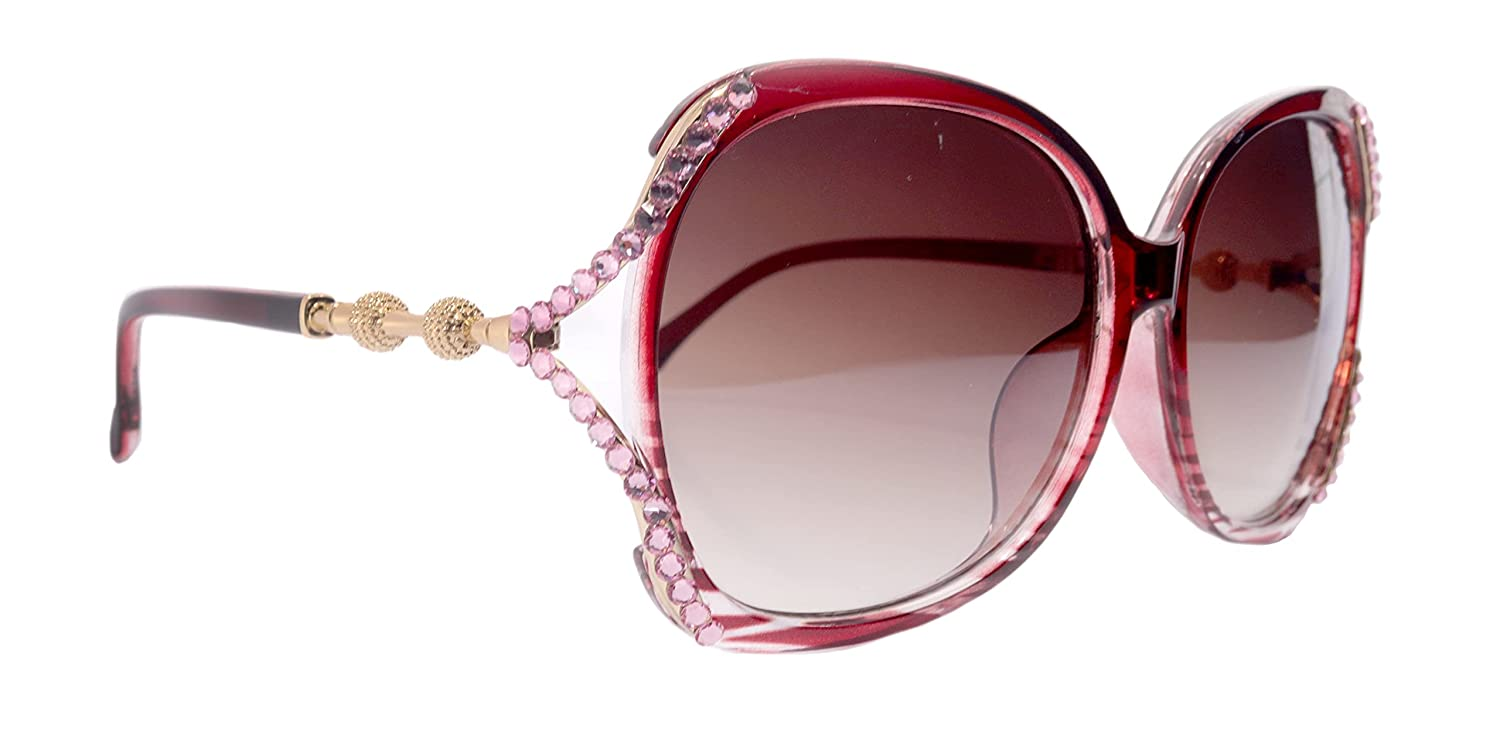 High order Bling Women Sunglasses Adorned w Max 58% OFF Crystals Protection. 100% UV N