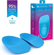 Heel That Pain Plantar Fasciitis Insoles | Heel Seats Foot Orthotic Inserts, Heel Cups for Heel Pain and Heel Spurs | Patented, Clinically Proven, 100% Guaranteed | Blue, Medium (W 6.5-10, M 5-8)