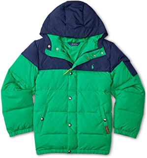 Polo Ralph Lauren Two Toned Quilted Down Coat Jacket Boys (3 3T)