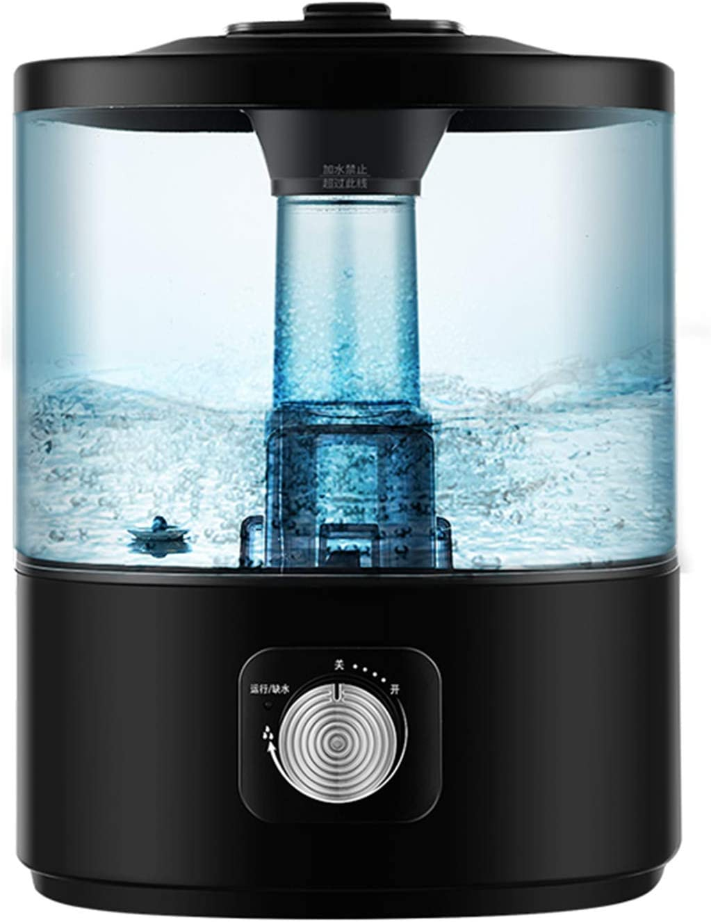 QILIN Silent Humidifier Top Fill Mist Max 90% OFF Fog Long-awaited Cool Humidifiers Leve