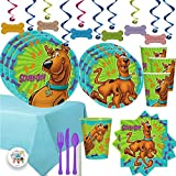 Mega Scooby Doo Birthday Party Supplies Pack For 16 With Scooby Doo...