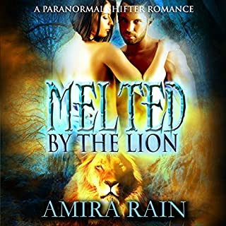 Melted by the Lion audiobook cover art