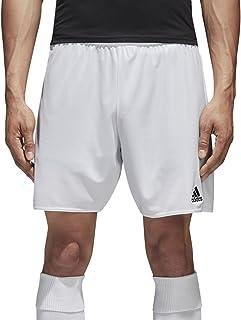 Parma 16 SHO - Pantalón Corto para Hombre, Color Blanco/Rojo
