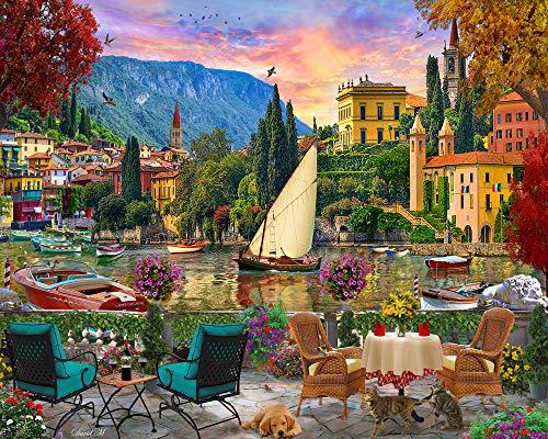 Al Fresco Italy Jigsaw Puzzle 1000 Piece