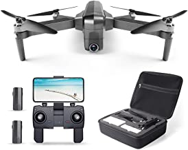 Ruko F11 Pro Drone 4K Quadcopter UHD Live Video GPS Drones, FPV Drone with Camera for Adults Beginner 30 Mins Flight Time Long 2500mAh Battery Brushless Motor(2 Batteries + Carrying Case)
