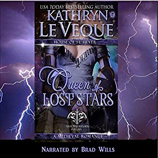 Queen of Lost Stars audiobook cover art