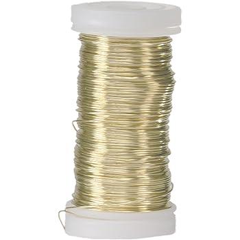 Color Dorado efco 22 247 95 Alambre para bisuter/ía